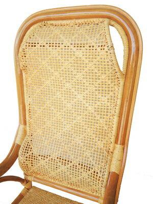 【台南關廟】   雙護腰老人椅一般型 /  教師藤椅 / 手工藤椅 1