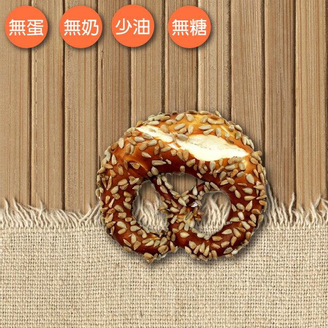 葵瓜子扭結麵包