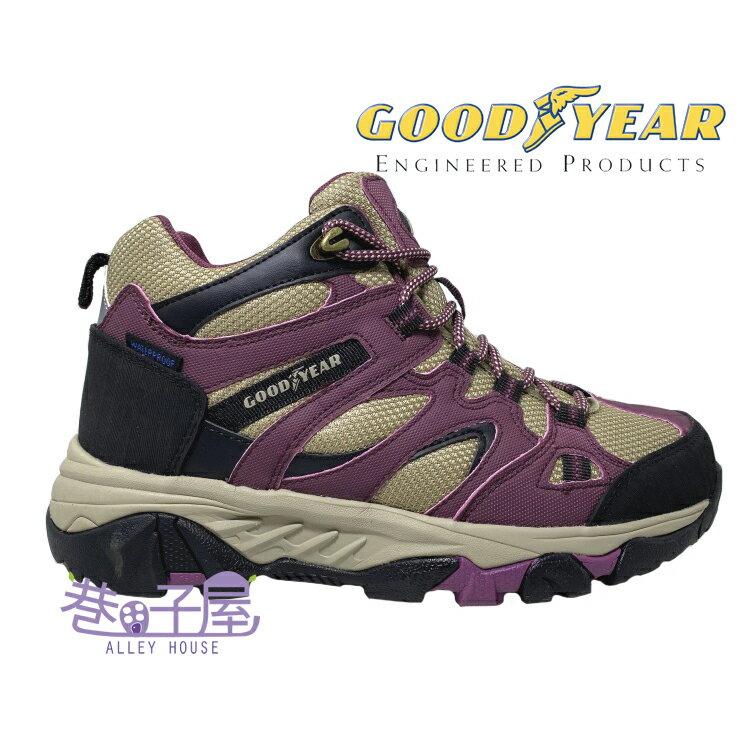 GOODYEAR固特異 森林之王 女款防水戶外登山鞋 踏青鞋 [02527] 紫【巷子屋】