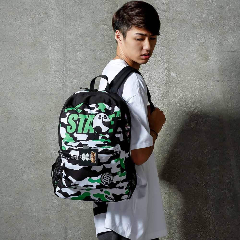 STAGE BAG × UNCLES FRIENDS CANCER BACKPACK 綠黑色 巨蟹座 0