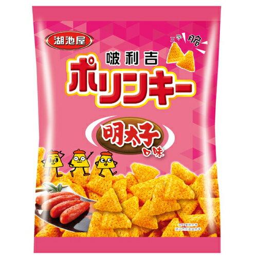 湖池屋 啵利吉三角脆酥-明太子口味 34g