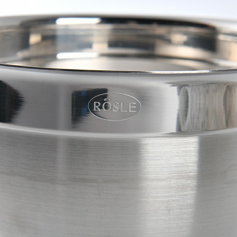 【德國Rosle】Rosle 不鏽鋼料理盆 調理碗 沙拉缽 20cm 3