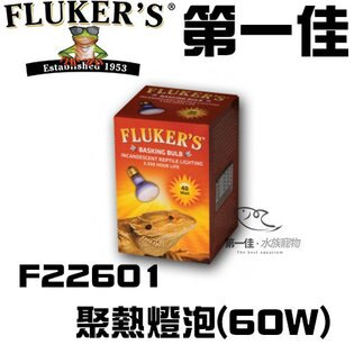 [第一佳水族寵物]美國FLUKER`S聚熱燈泡F2260160W日間爬蟲類聚熱燈泡黃光給寵物溫暖的冬天免運