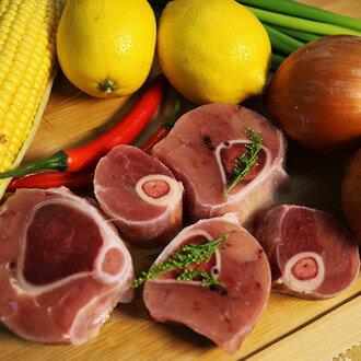 紐西蘭小犢牛膝切片300g、取自紐西蘭天然放牧小犢牛前後腱,肉質香甜柔嫩 脂肪含量極少,健