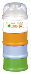蜜妮寶貝嬰童用品館:【蜜妮寶貝嬰童用品館】四層奶粉盒