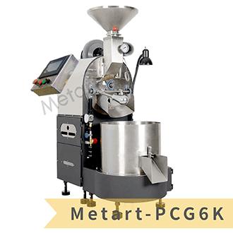 【福璟咖啡】6kg 微電腦全自動燃氣半熱風式咖啡烘豆機/烘焙機(Metart-PCG6K)