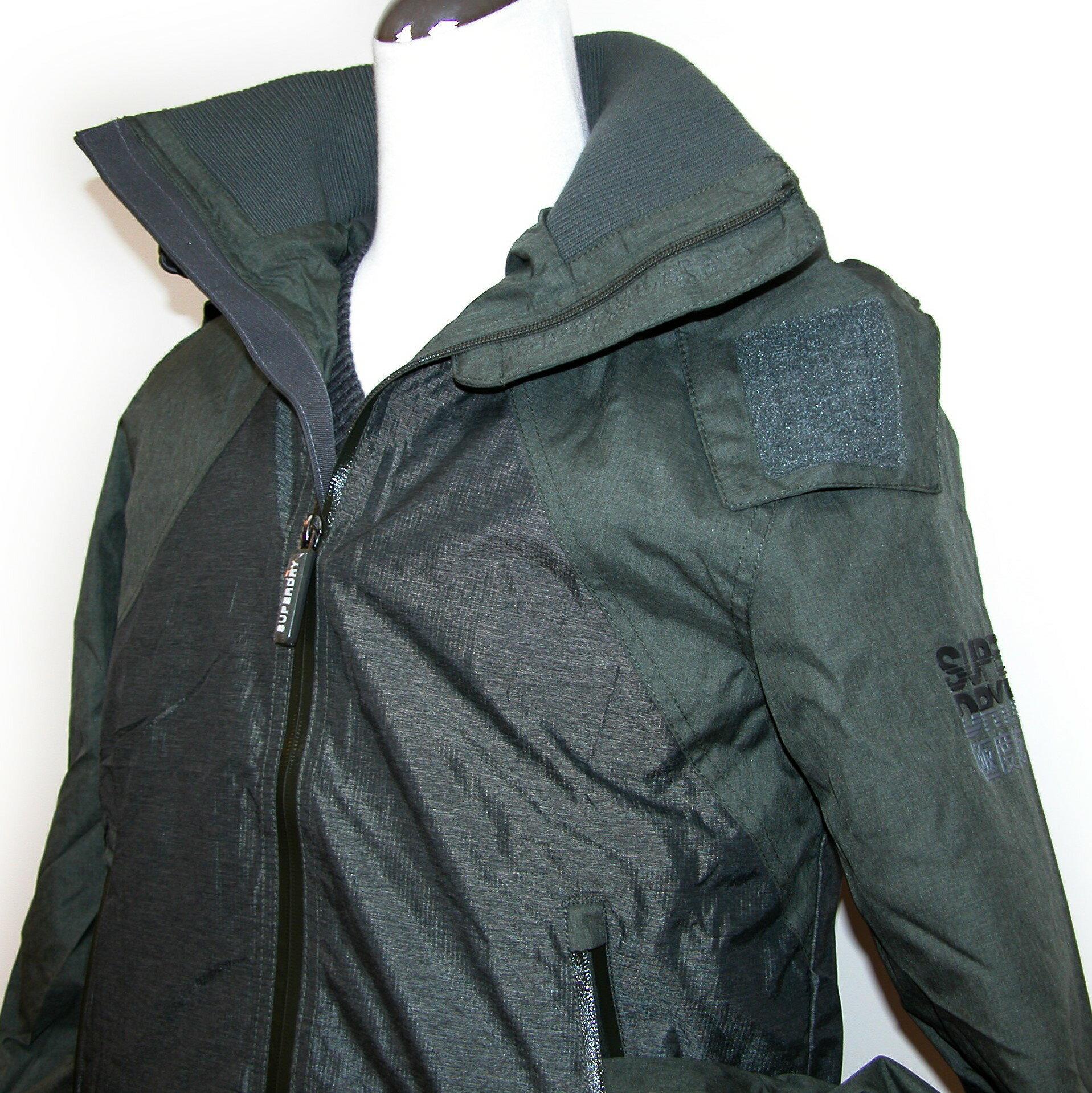 Superdry (M50014RPS JK3)arctic hooded cliff hiker hybrid男連帽防風夾克(綠色/灰) / 全新美國公司貨 【119 小鋪】