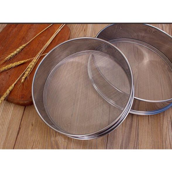 不鏽鋼麵粉篩 糖粉篩網 分樣篩