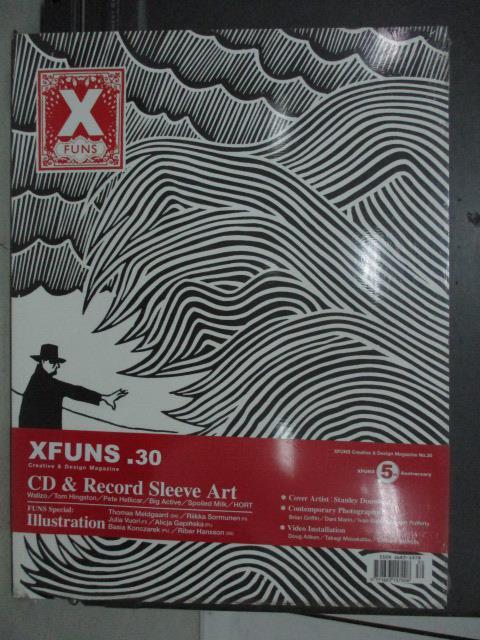 【書寶二手書T1/設計_QEM】Xfuns放肆創意設計_30期_CD&Record Sleeve Art_未拆