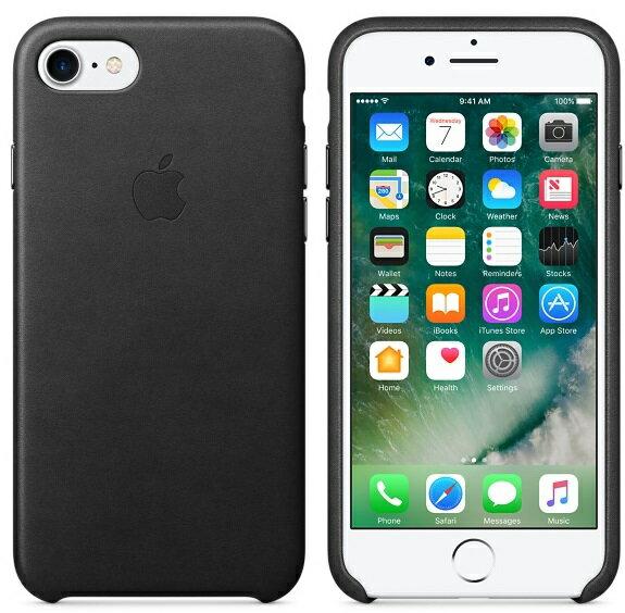 APPLE iPhone 7 PLUS 原廠皮革護套 5.5吋 手機套 黑色