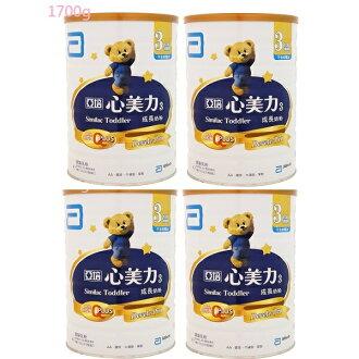 亞培 心美力High Q3號(1700g×4罐)