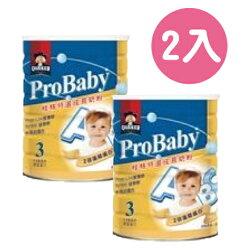 【2入】QUAKER 桂格 特選成長奶粉(藻精蛋白配方)1500g【悅兒園婦幼用品館】