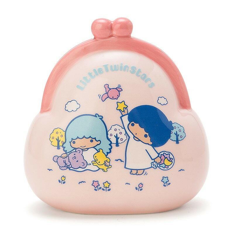 【真愛日本】17122700012 造型陶瓷存錢筒-TS錢包 kikilala 雙子星 存金桶 貯金箱 擺飾裝飾品