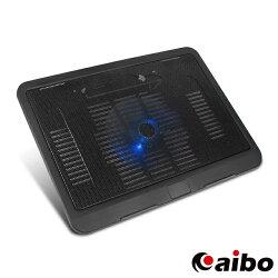 aibo 筆記型電腦專用散熱墊 筆電散熱墊 散熱器 散熱座 散熱盤 排熱墊 USB風扇 LED燈 NB散熱墊