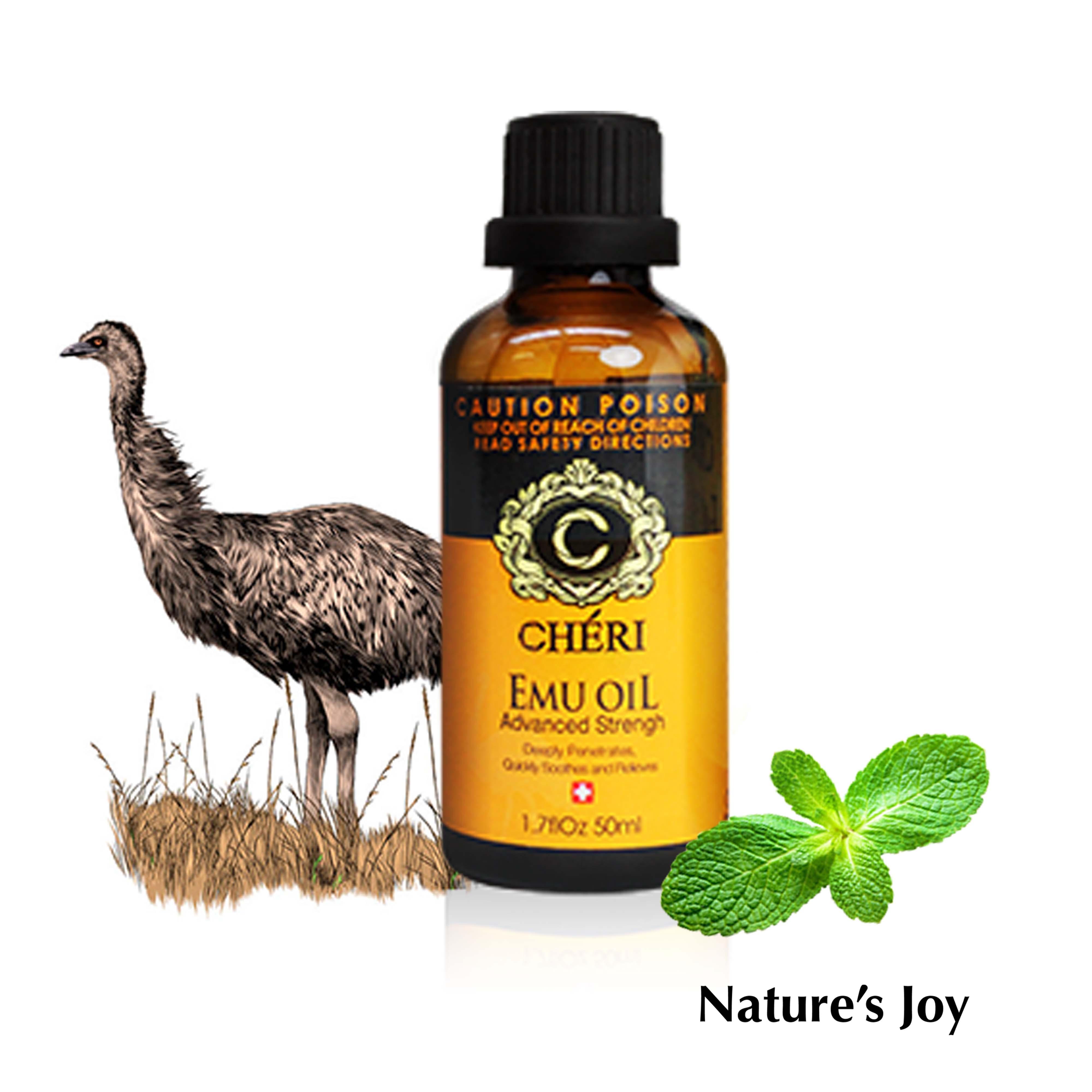 Nature's Joy 澳洲強效鴯鶓精油 / 澳洲維骨力 外用 / 澳洲原裝 / 推拿大師 / 舒緩精油 / 按摩油 0