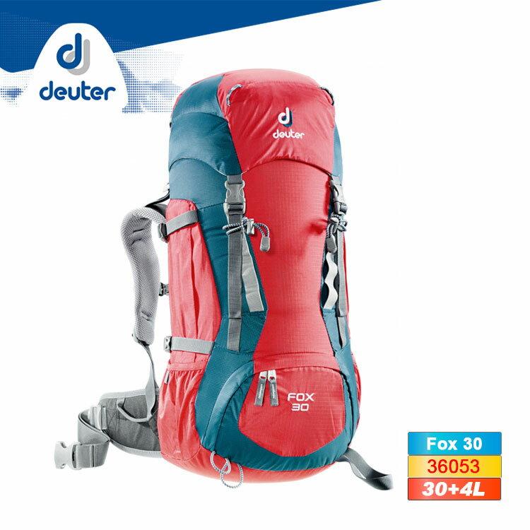 deuter Fox 30休閒旅遊背包36053 (30L+4L) / 城市綠洲 (登山背包、後背包、可放水袋)