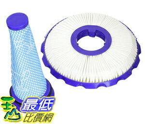 [106美國直購] 濾網 Dyson DC50 HEPA Post Filter Washable Pre Filter Kit Part #965081-01 965080-01 By Aqua G..