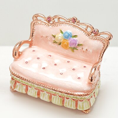 〔APM飾品〕日本Piearth 溫馨午後優雅沙發珠寶盒