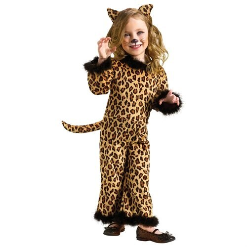 Pretty Leopard Toddler Halloween Costume 0
