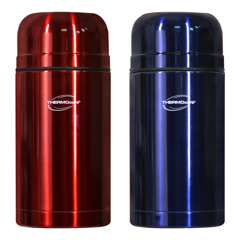 THERMOS膳魔師 買一送一凱菲304不鏽鋼悶燒罐 / 保溫壺1000ML【GF1000】 1