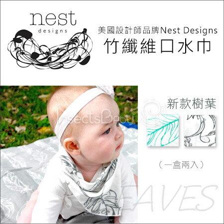 ~蟲寶寶~~美國Nest Designs~竹纖維系列口水巾^! 超強吸水  一盒兩入 ~
