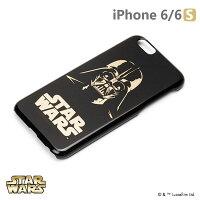 正版 Starwars iPhone 6/6s 星際大戰 金箔硬殼黑暗系列 - 黑武士