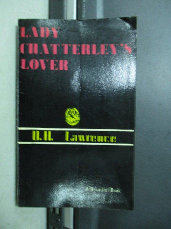 【書寶二手書T2/原文小說_KSP】Lady chatterley's lover_D.H.Lawrence