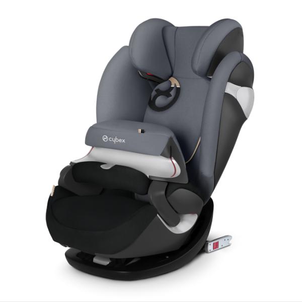 德國【Cybex】PallasM-FIX汽車安全座椅(9個月~12歲)-深灰色(預購5月中到貨)