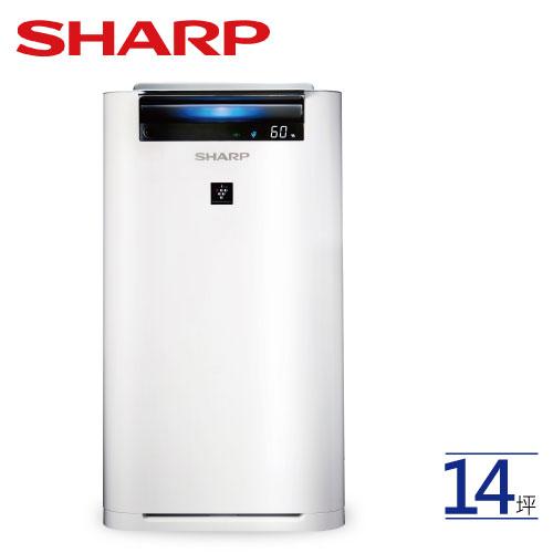 SHARP夏普KC-JH60T-W空氣清淨機日本製造自動除菌離子【預購商品預計530陸續出貨】