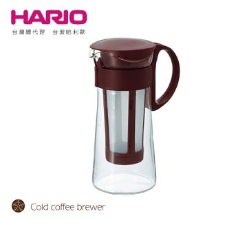 【HARIO】迷你咖啡色冷泡咖啡壺600 / MCPN-7CBR