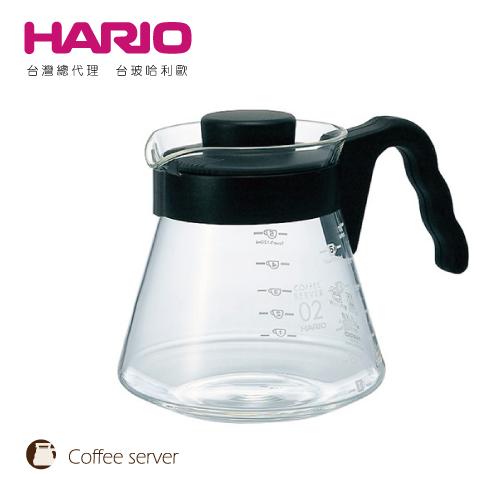【HARIO】V60好握02黑色咖啡壺 / VCS-02B