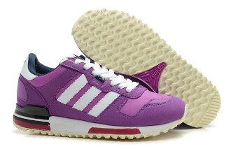 Adidas/愛迪達 ZX700系列 女鞋 慢跑鞋 運動休閒鞋(36—39淺紫色)