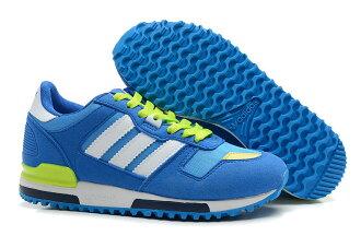 Adidas/愛迪達 ZX700系列 女鞋 慢跑鞋 運動休閒鞋(36—39白藍綠)