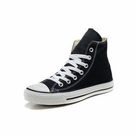 Converse/匡威 經典帆布高幫鞋 男生女生板鞋 情侶運動休閒鞋 慢跑鞋(黑色35-43)