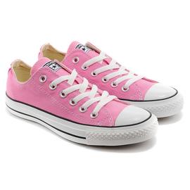 Converse/匡威 經典帆布鞋 女生板鞋 運動休閒鞋 慢跑鞋(粉色35-39)