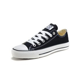 Converse/匡威 經典帆布鞋 男生女生板鞋 情侶運動休閒鞋 慢跑鞋(黑色35-43)