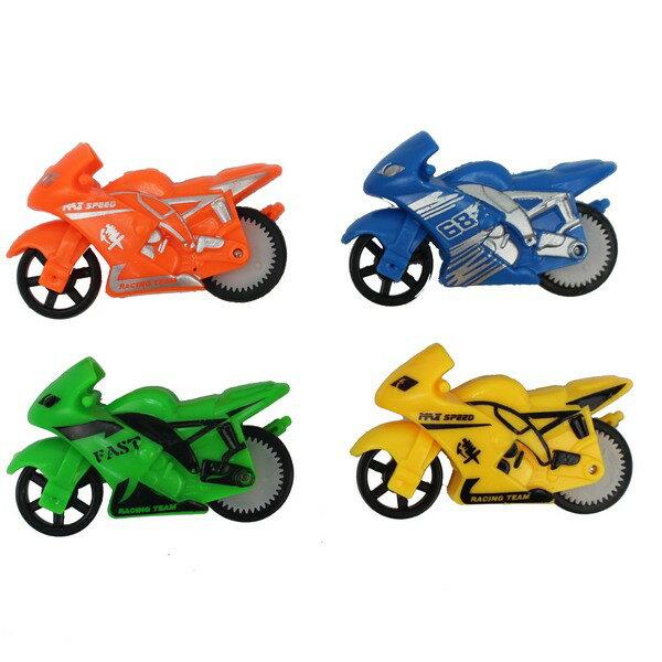 迷妳迴旋特技摩托車 特技機車(袋裝)/一袋12台入{促15}環保無須電池 摩輪特技高速摩托車~瑋