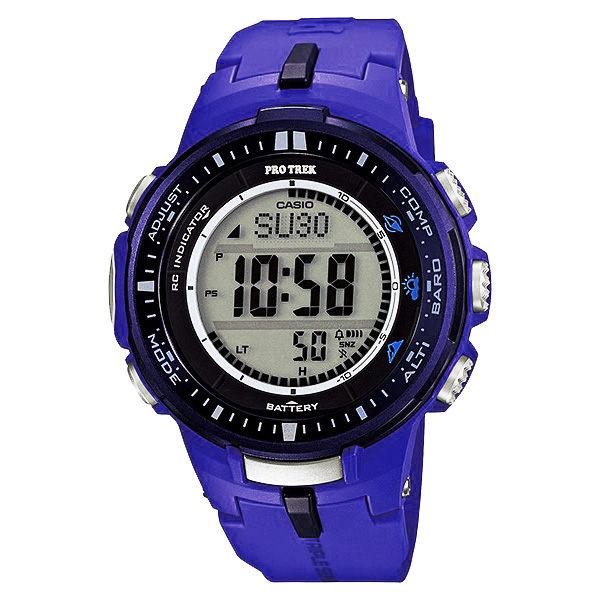 CASIO PRO TREK 登山錶 PRW-3000-2BDR專業登山電波腕錶/47mm