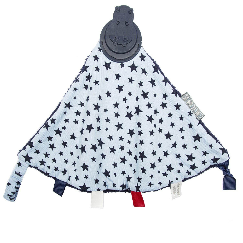 【英國 Cheeky Chompers】 全世界第一個咬咬巾-閃耀星星(英國設計師Joules聯名款)