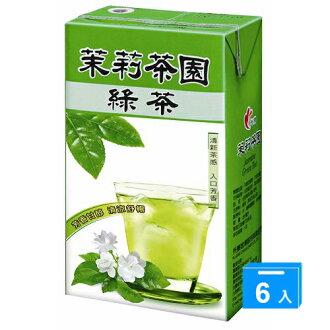 光泉茉莉茶園-綠茶250ml*6入/組【愛買】