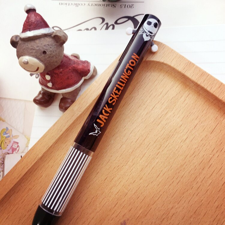 PGS7 日本迪士尼系列商品 - 聖誕夜驚魂 傑克 雙色原子筆 原子筆 雙色筆 筆【SHJ6422】