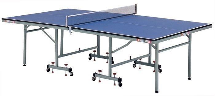 【H.Y SPORT】【強生CHANSON】桌球桌/ 桌球檯/乒乓球桌CS-6200/免運 專人到府安裝 可貨到付款