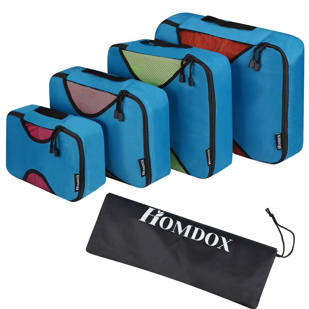 Travel Packing Bag Cubes Set of 4 Pieces Organizer Bag Case For Shoes Cloths Cosmetics 1