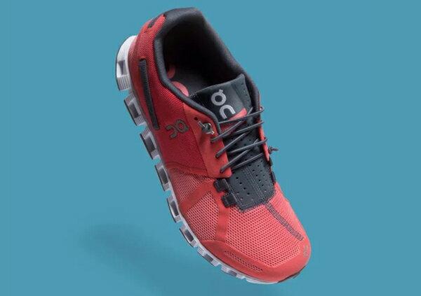 ON瑞士跑鞋輕量雲Cloud W Coral/Shadow珊瑚紅(女)