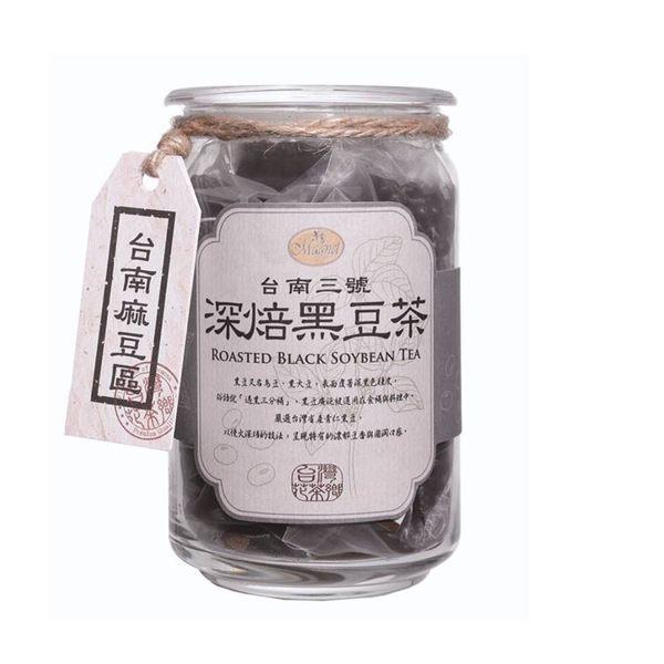 曼寧 台南麻豆深焙黑豆茶(8gx20入)/缶