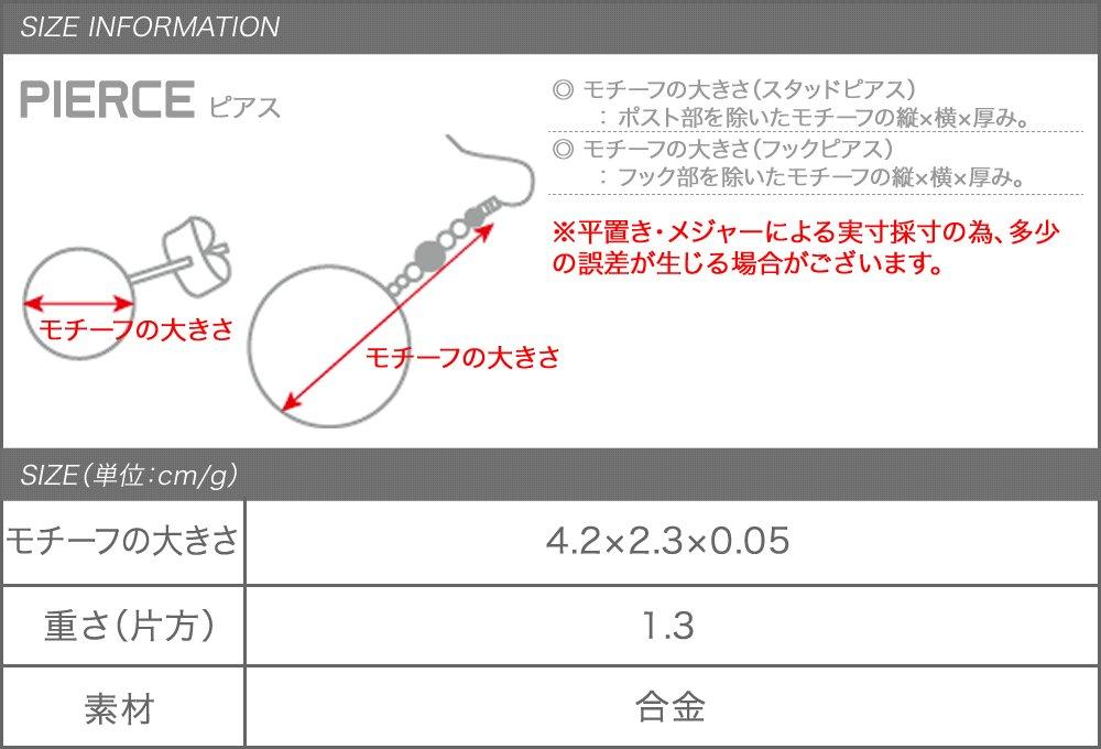 日本CREAM DOT  /  ピアス フックピアス レディース 揺れる ブランド 透かしモチーフ 二連 2連 サークル 大人 上品 エレガント フェミニン ゴールド シルバー  /  a03341  /  日本必買 日本樂天直送(1190) 8
