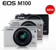 139111 EOS M100 白 新機上市首購禮:加贈一顆 LP~E12 電池~~~