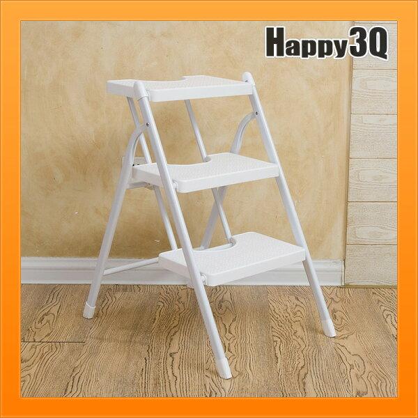 摺疊凳子梯子椅子免安裝折凳好攜帶功能折疊凳換鞋凳單層雙層三層-多款【AAA3842】