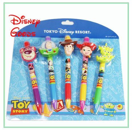 X射線【C540001】日本迪士尼代購-玩具總動員油性筆組,鋼筆/金筆/原子筆/鋼珠筆/自動鉛筆/筆蕊/墨水