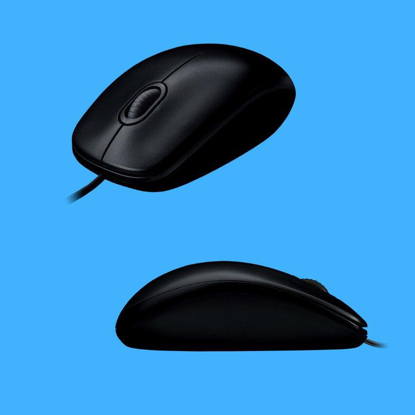 【羅技Logitech】M100r 有線光學滑鼠